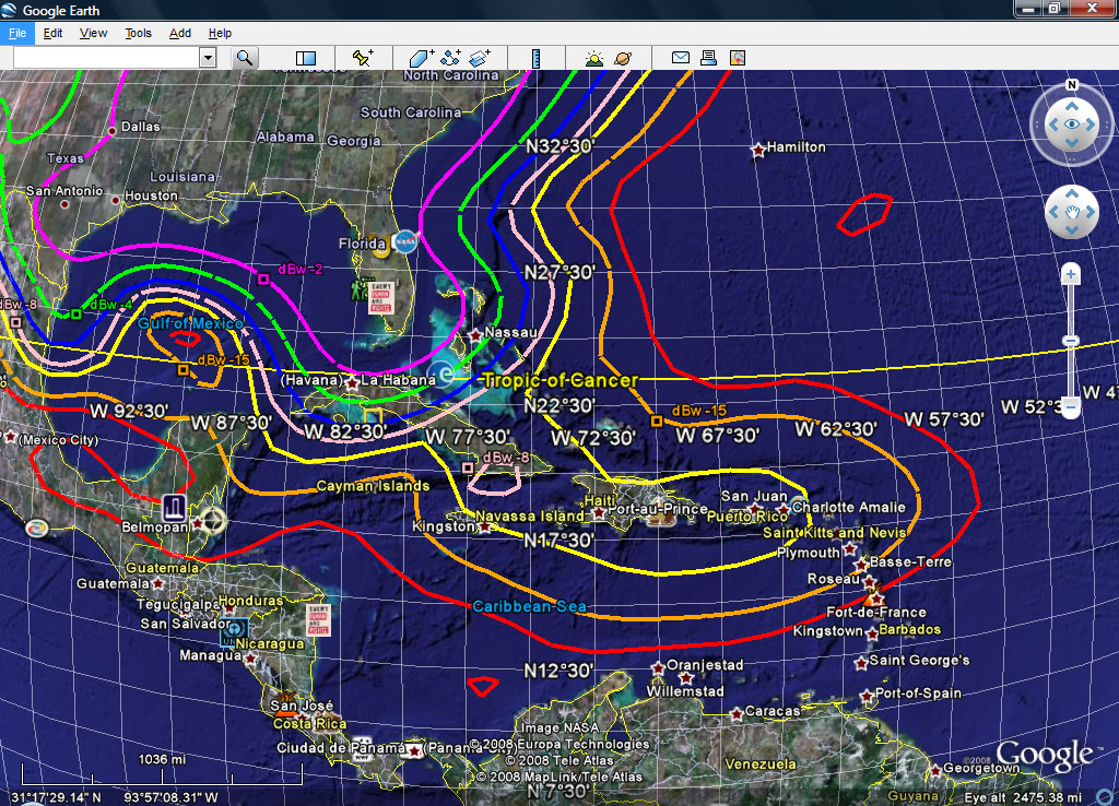 EKB: Spot Beam and Coverage Maps Direct Tv Coverage Map on